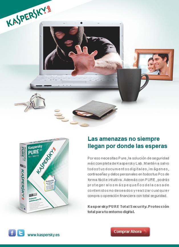 Kaspersky Lab España: eMailing