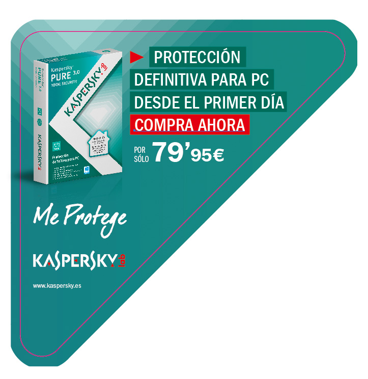 Kaspersky Lab España: Material PLV Corner