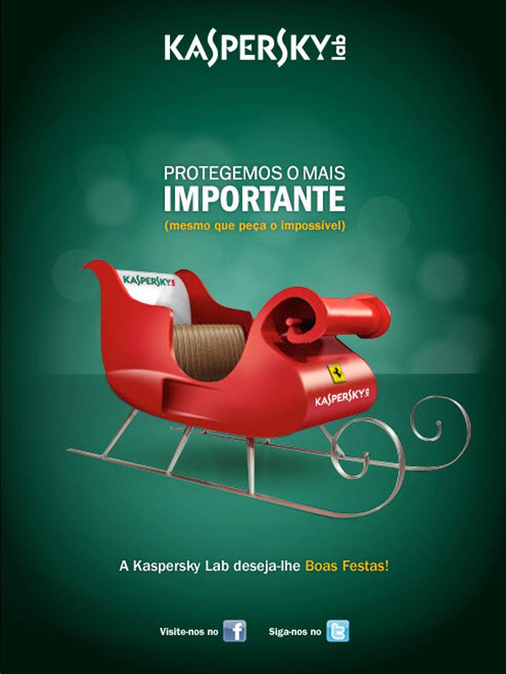 Kaspersky Lab España: Página de Prensa (Felicitación de las Navidades 2011)