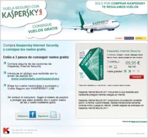 Landing vuelos gratis