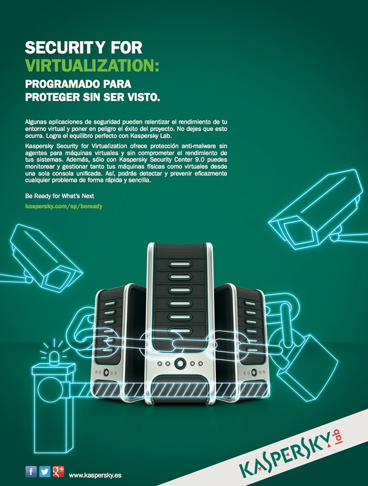 Kaspersky Security for Virtualization: Página de Prensa